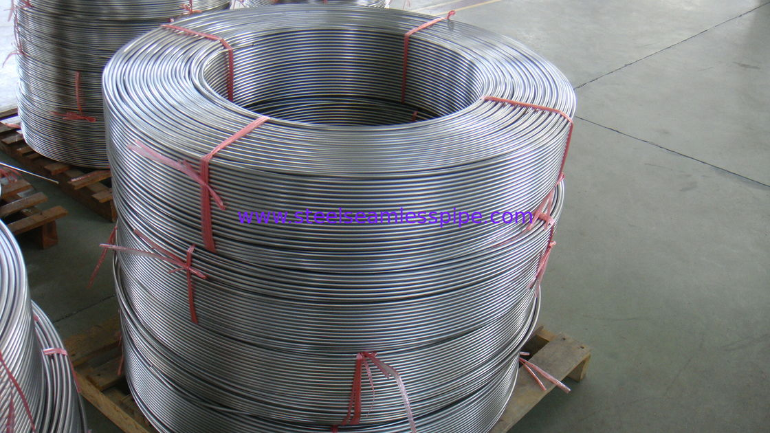 Heat-exchanger/Boiler tube Pickled / Bright Annealed Surface Stainless Steel Seamless Tube  ASME SA213 TP316/316L