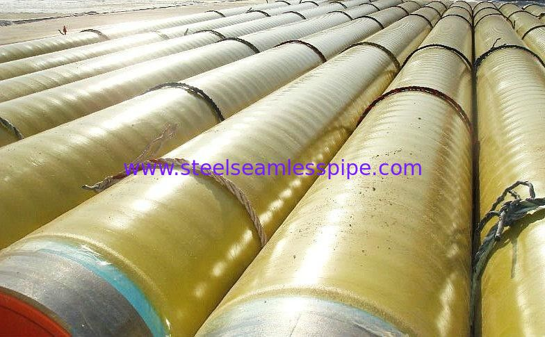 3PE FBE 3LPE Coating Carbon Steel Tubing A53 / API5l In Bundles
