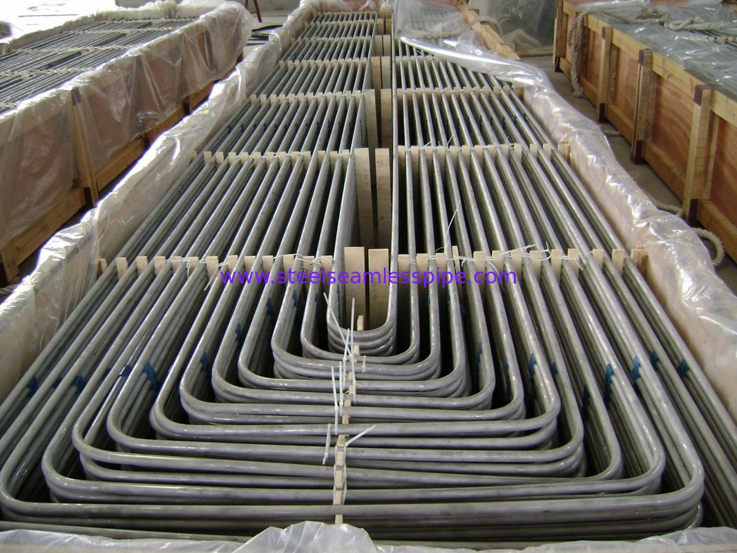 Stainless Steel U Bend Heat Exchanger Tube TP304 Material Stable Performance