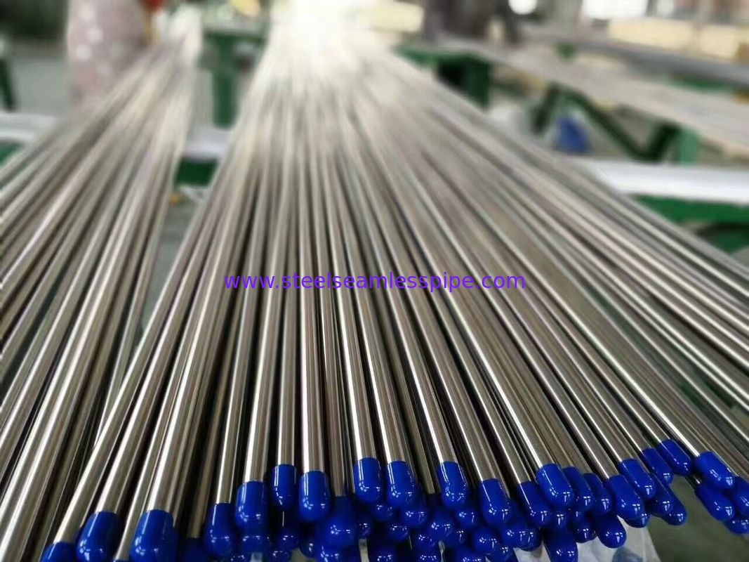 Stainless Steel Tubes Bright Annealed ASTM A213 / ASTM A269 TP304/304L TP316/316L 50.8 X 1.5 X 6000MM