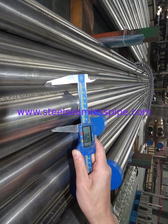 ASTM B163 UNS N08811 Incoloy Pipe Bright Surface UNS N08811 For Heat Exchanger