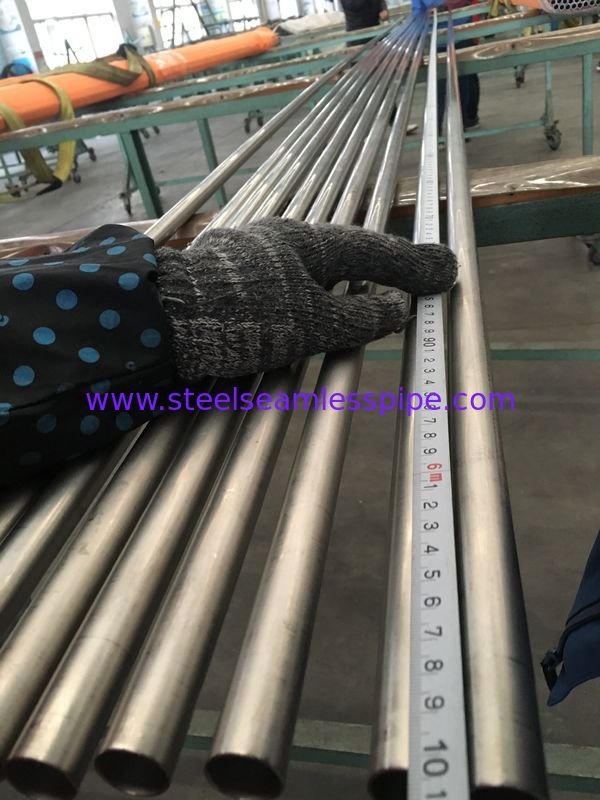 Condensers / Heat Exchangers Titanium Alloy Tubes ASME SB338 High Strength