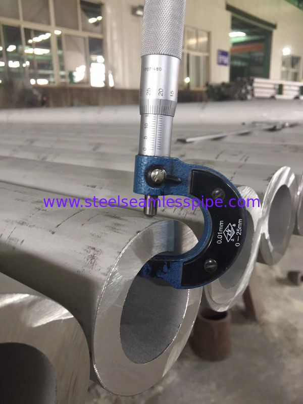 TP310 / 310H Stainless Steel Seamless Pipe High Precision For Heat Exchangers