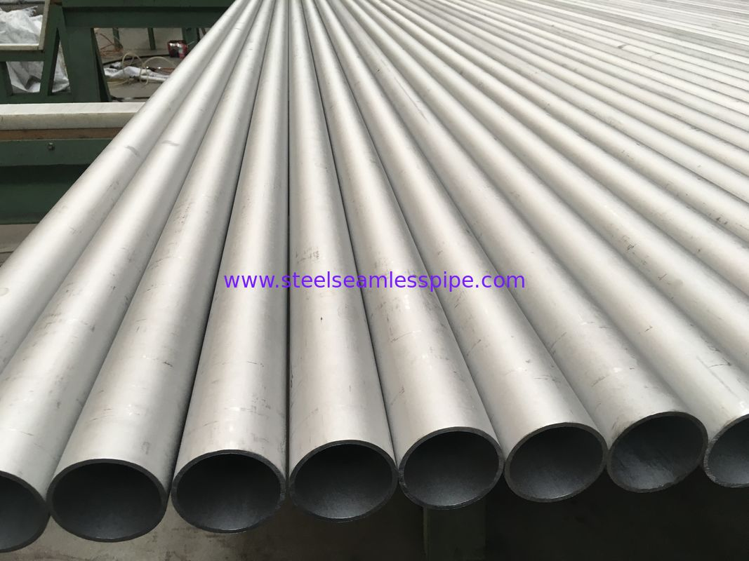 TP304 Material Grade Seamless Stainless Steel Tube Pickled Surface ISO9001