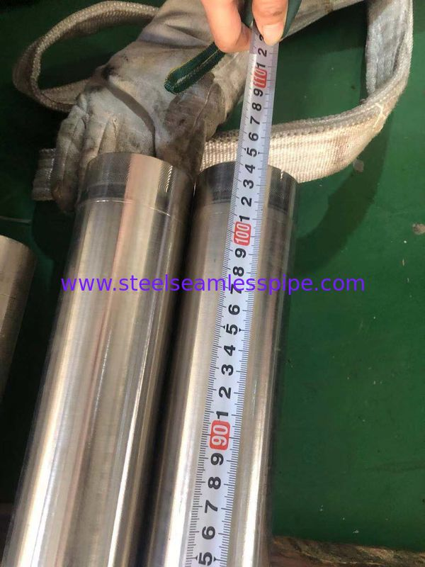 Monel 400 / EN 2.4360 / Monel K500 Nickel Alloy Pipe Excellent Mechanical Properties Round Bar