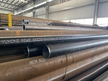 "ALLOY STEEL SEAMLESS PIPE ASTM A335 P11 P22 P5 P9 Black Painting ,BA 4"" SCH120*11.6M"